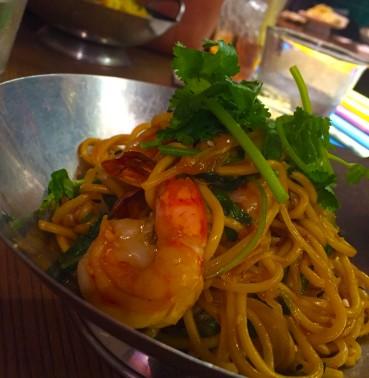 Cicada's Sambal Noodles